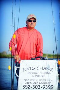 Contact Captain Don Chancey